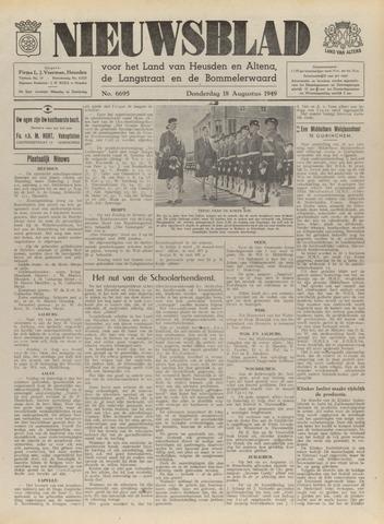 Nieuwsblad het land van Heusden en Altena de Langstraat en de Bommelerwaard 1949-08-18