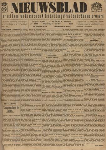 Nieuwsblad het land van Heusden en Altena de Langstraat en de Bommelerwaard 1923-10-03