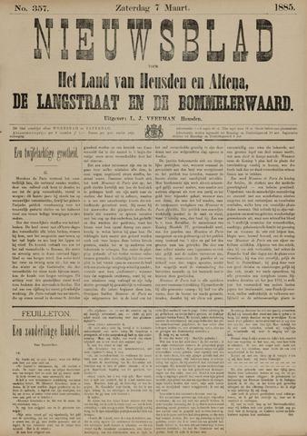 Nieuwsblad het land van Heusden en Altena de Langstraat en de Bommelerwaard 1885-03-07
