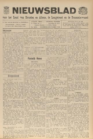 Nieuwsblad het land van Heusden en Altena de Langstraat en de Bommelerwaard 1948-11-08