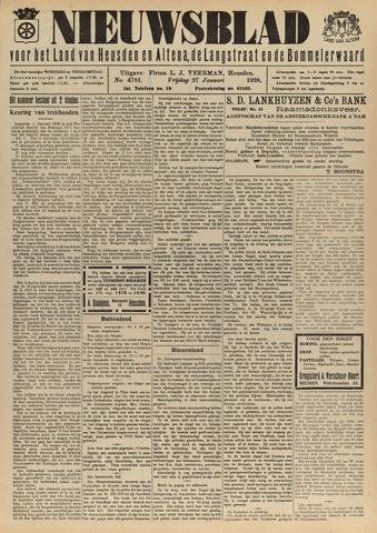 Nieuwsblad het land van Heusden en Altena de Langstraat en de Bommelerwaard 1928-01-27