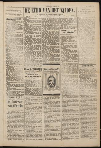 Echo van het Zuiden 1922-04-12
