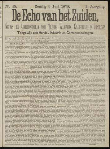 Echo van het Zuiden 1878-06-09
