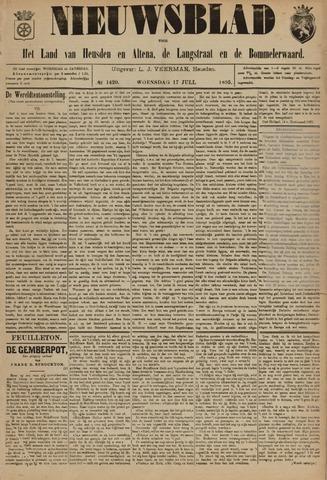 Nieuwsblad het land van Heusden en Altena de Langstraat en de Bommelerwaard 1895-07-17