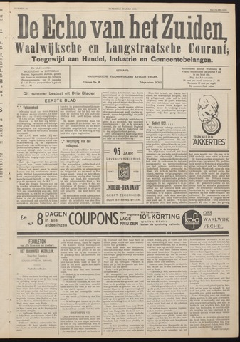 Echo van het Zuiden 1938-07-30