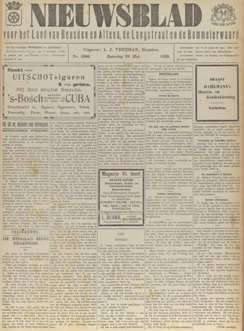 Nieuwsblad het land van Heusden en Altena de Langstraat en de Bommelerwaard 1920-05-29