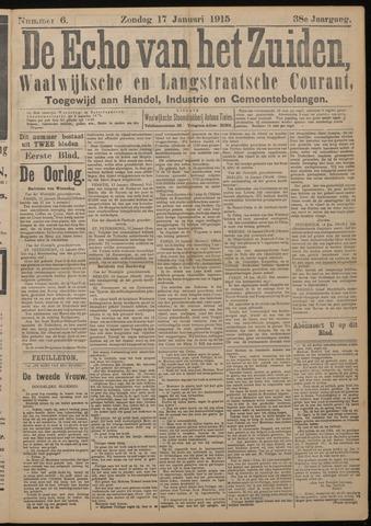Echo van het Zuiden 1915-01-17