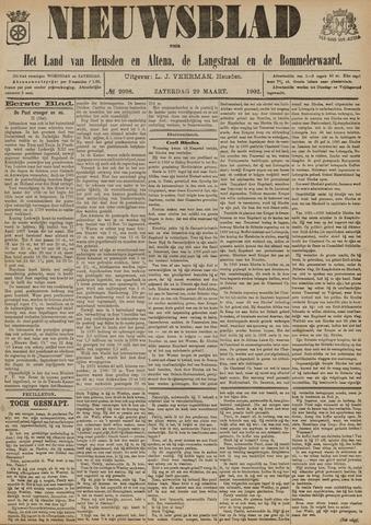 Nieuwsblad het land van Heusden en Altena de Langstraat en de Bommelerwaard 1902-03-29
