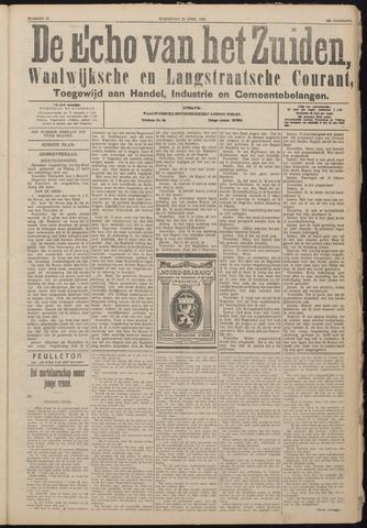 Echo van het Zuiden 1925-04-22