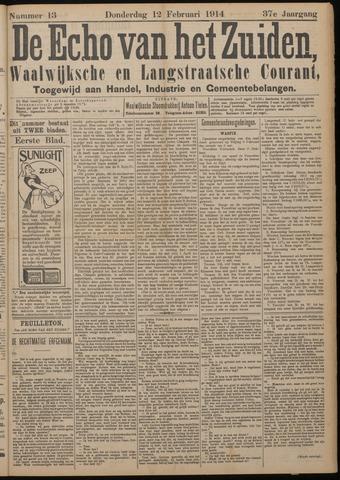 Echo van het Zuiden 1914-02-12