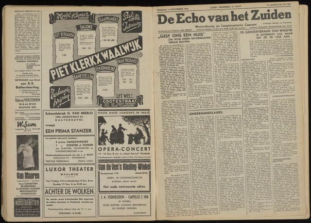 Echo van het Zuiden 1948-12-14