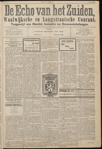 Echo van het Zuiden 1933-10-21