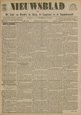 Nieuwsblad het land van Heusden en Altena de Langstraat en de Bommelerwaard 1899-07-15