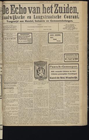 Echo van het Zuiden 1931-04-04