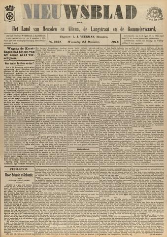 Nieuwsblad het land van Heusden en Altena de Langstraat en de Bommelerwaard 1913-12-24