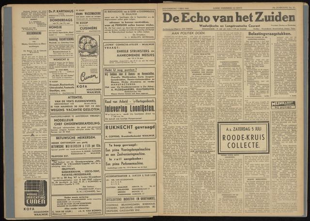 Echo van het Zuiden 1947-07-03