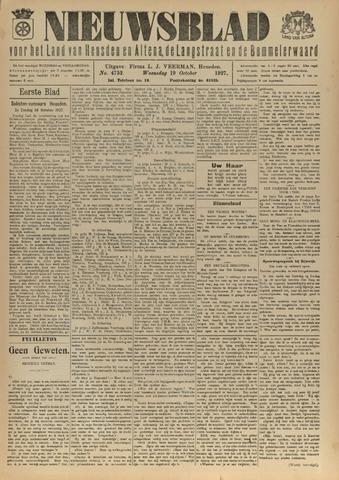 Nieuwsblad het land van Heusden en Altena de Langstraat en de Bommelerwaard 1927-10-19