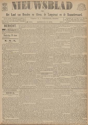 Nieuwsblad het land van Heusden en Altena de Langstraat en de Bommelerwaard 1897-08-14