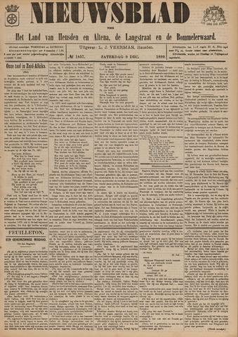 Nieuwsblad het land van Heusden en Altena de Langstraat en de Bommelerwaard 1899-12-09