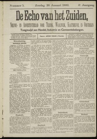 Echo van het Zuiden 1881-01-16