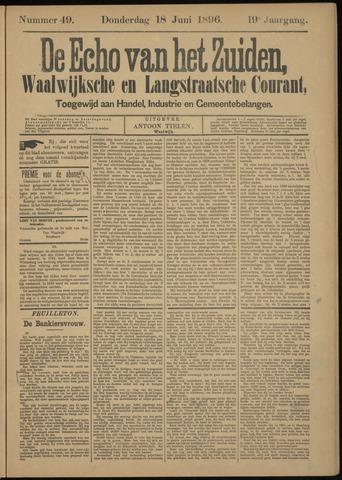 Echo van het Zuiden 1896-06-18