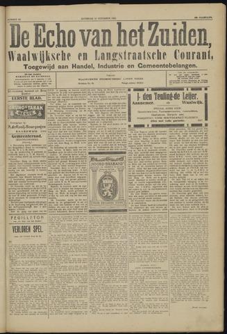 Echo van het Zuiden 1923-11-10