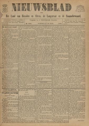 Nieuwsblad het land van Heusden en Altena de Langstraat en de Bommelerwaard 1896-06-10