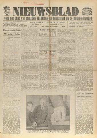 Nieuwsblad het land van Heusden en Altena de Langstraat en de Bommelerwaard 1941-02-05