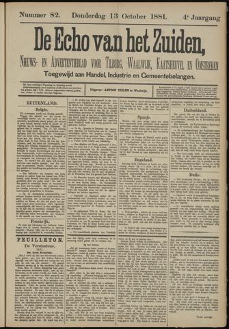 Echo van het Zuiden 1881-10-13