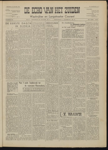 Echo van het Zuiden 1949-01-24