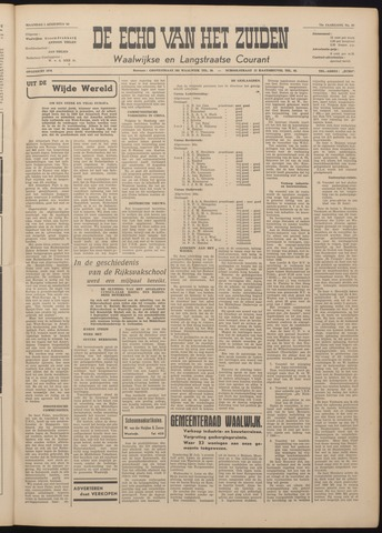 Echo van het Zuiden 1949-08-01