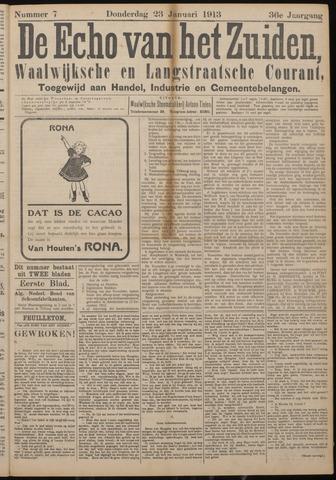 Echo van het Zuiden 1913-01-23