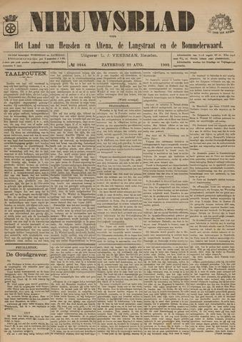 Nieuwsblad het land van Heusden en Altena de Langstraat en de Bommelerwaard 1903-08-22