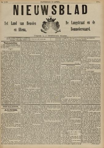 Nieuwsblad het land van Heusden en Altena de Langstraat en de Bommelerwaard 1892-04-23