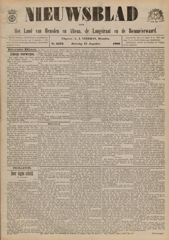 Nieuwsblad het land van Heusden en Altena de Langstraat en de Bommelerwaard 1906-08-11