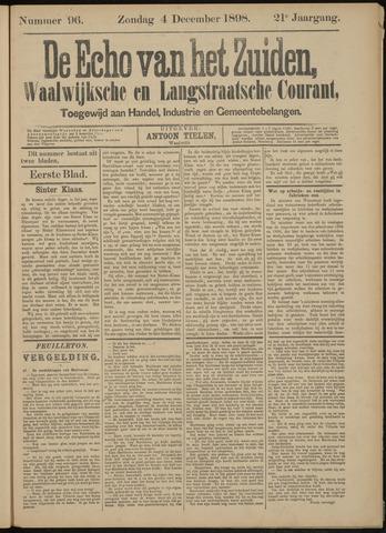 Echo van het Zuiden 1898-12-04