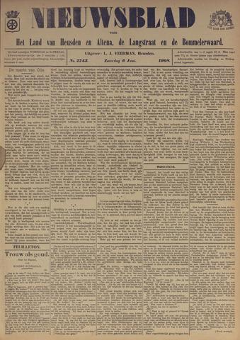 Nieuwsblad het land van Heusden en Altena de Langstraat en de Bommelerwaard 1908-06-06