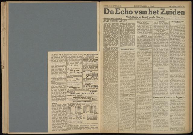 Echo van het Zuiden 1946-04-30