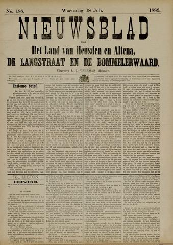 Nieuwsblad het land van Heusden en Altena de Langstraat en de Bommelerwaard 1883-07-18