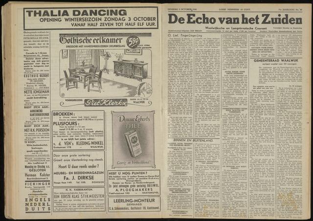 Echo van het Zuiden 1948-10-05