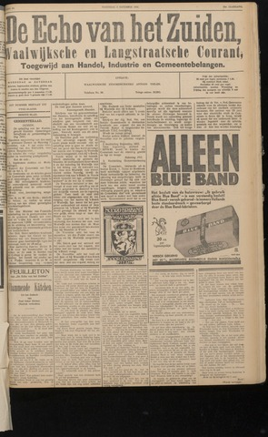Echo van het Zuiden 1932-11-09