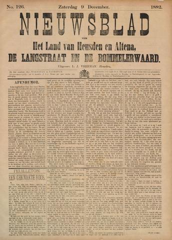 Nieuwsblad het land van Heusden en Altena de Langstraat en de Bommelerwaard 1882-12-09
