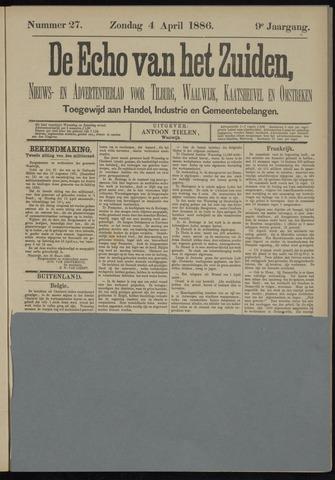 Echo van het Zuiden 1886-04-04
