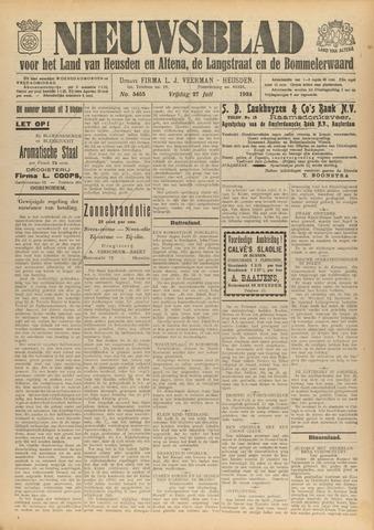 Nieuwsblad het land van Heusden en Altena de Langstraat en de Bommelerwaard 1934-07-27
