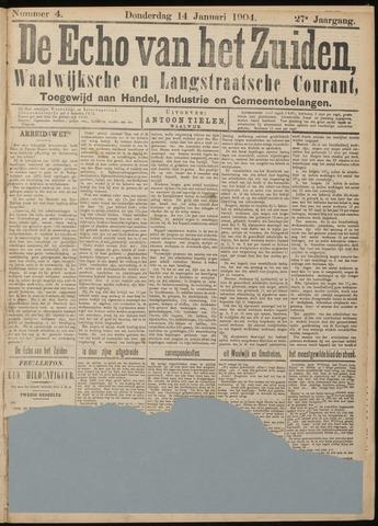 Echo van het Zuiden 1904-01-14
