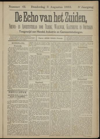 Echo van het Zuiden 1882-08-03
