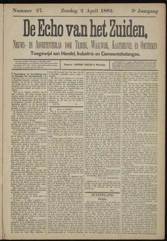 Echo van het Zuiden 1882-04-02