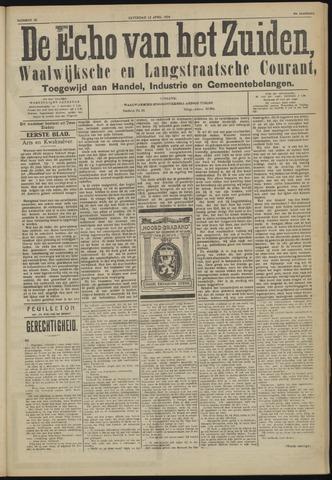 Echo van het Zuiden 1924-04-12