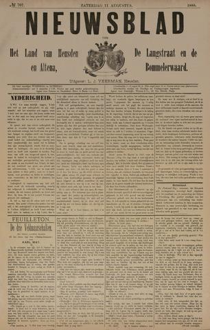 Nieuwsblad het land van Heusden en Altena de Langstraat en de Bommelerwaard 1888-08-11