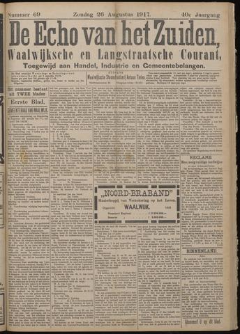 Echo van het Zuiden 1917-08-26